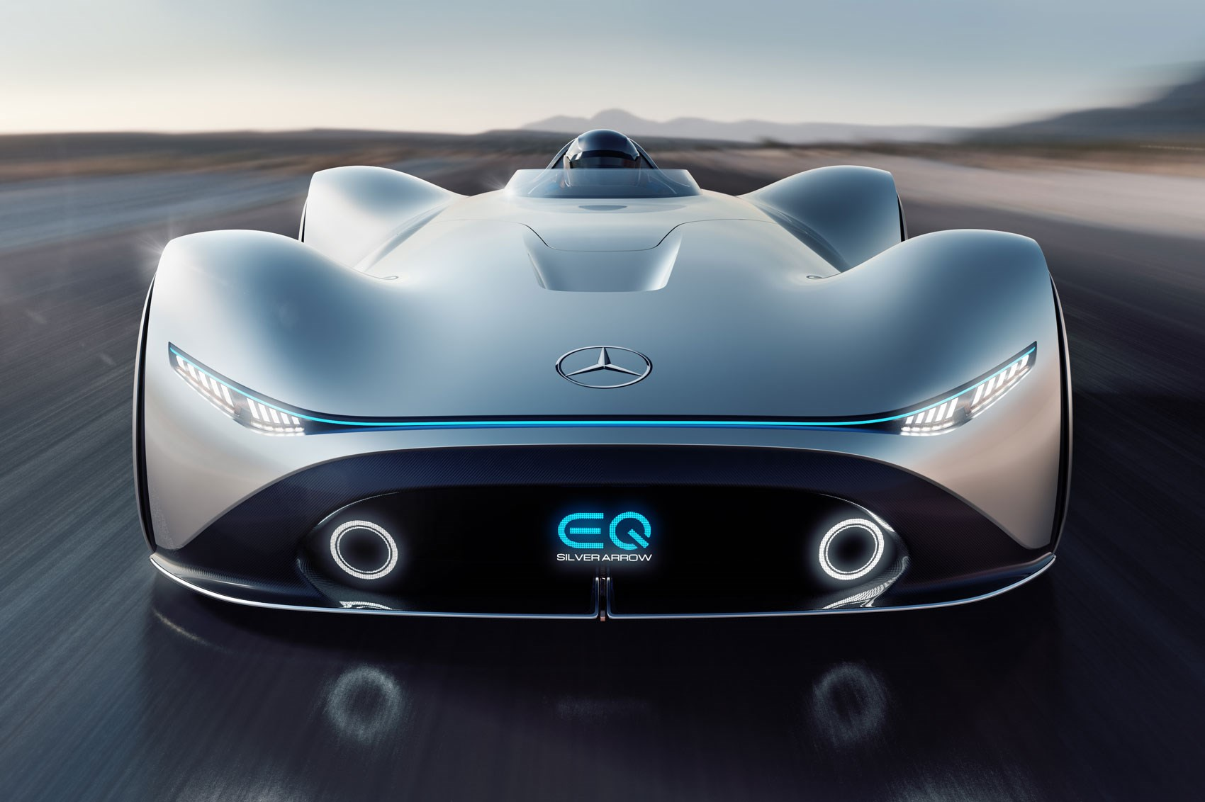 Mercedes EQ Silver Arrow concept: future and past collide ...