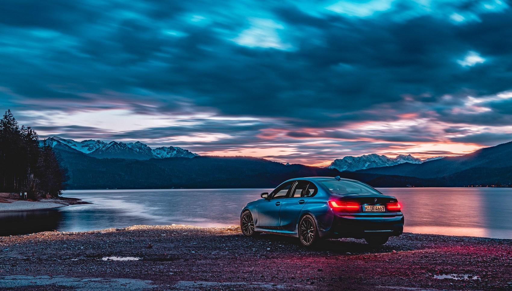 BMW 330i rear quarter