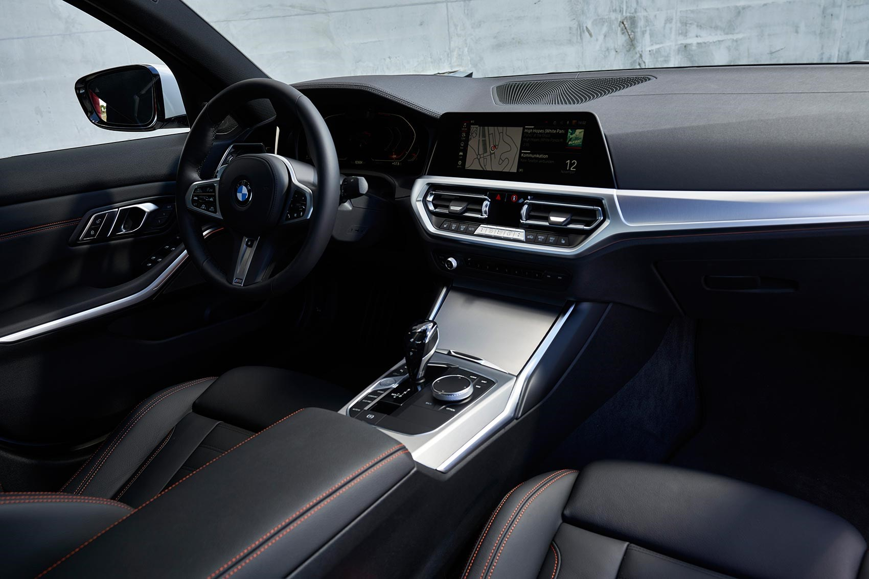 BMW 3-series interior and cabin