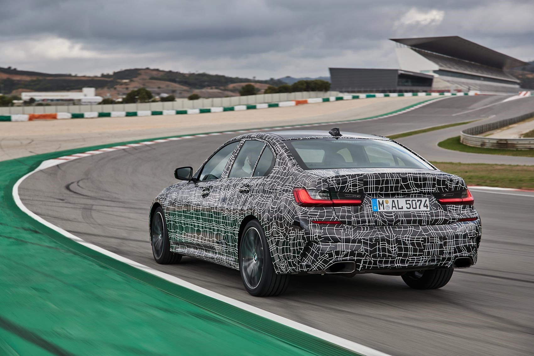 BMW M340i xDrive driven on track
