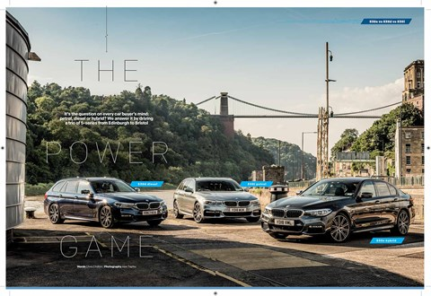 Petrol, diesel or electric car? We took a BMW 5-series of every persuasion to Bristol to find out