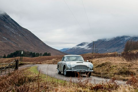 Aston DB5 James Bond
