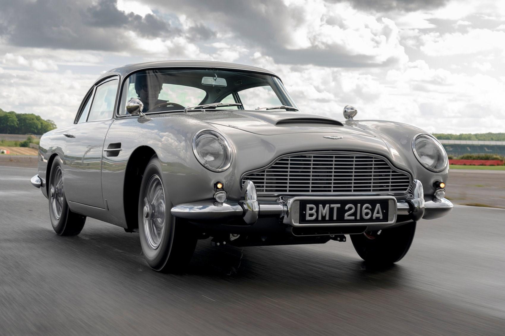 Aston Martin Db5 Continuation Hits Production Car Magazine
