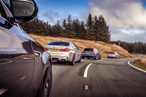 M5 Group rear cornering