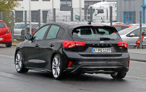 The new 2019 Ford Focus ST hot hatch