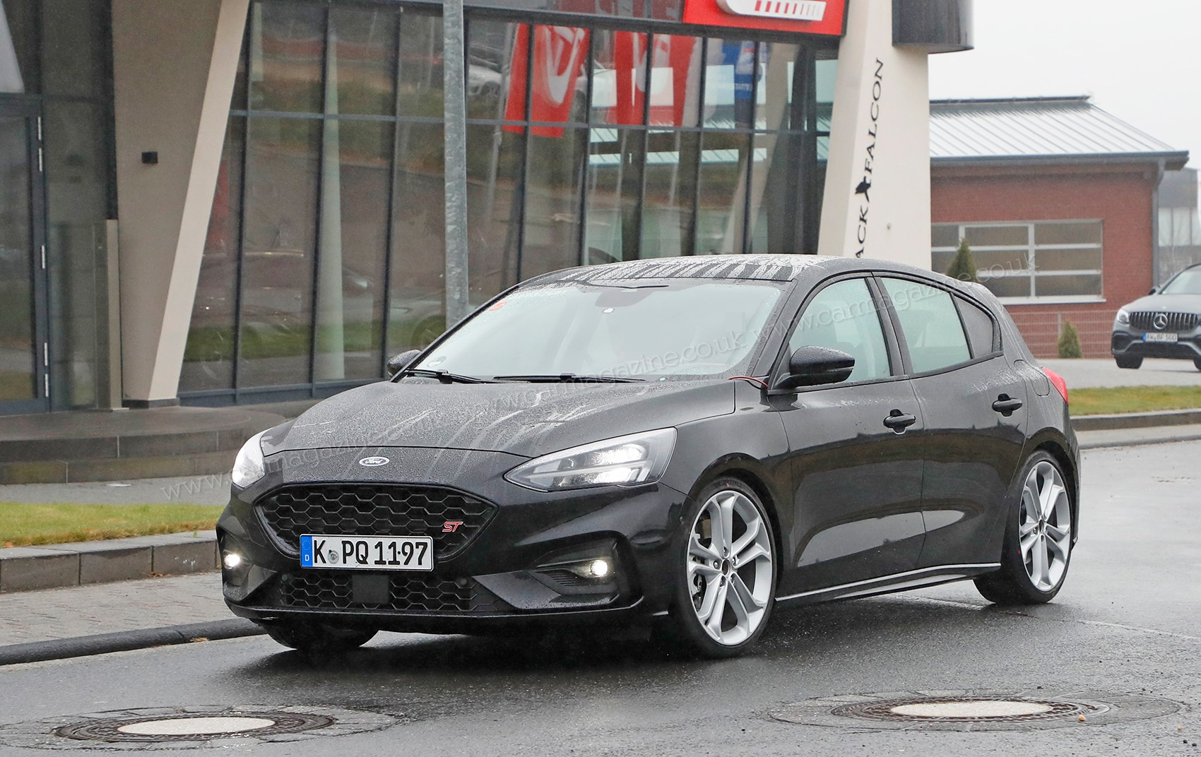 ... We caught the new Ford Focus ST on test near the Nurburgring in Germany  ...