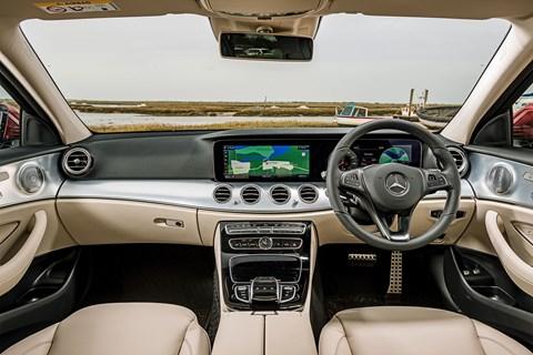 Mercedes E-AT interior
