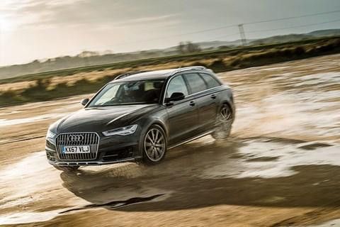 Audi A6 Allroad offroad