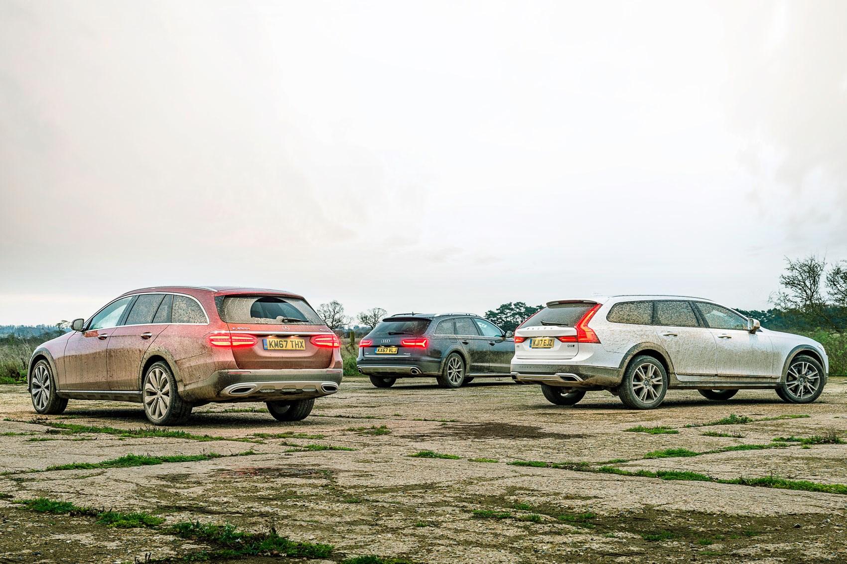 E350d All Terrain Vs A6 Allroad Vs V90 Cross Country Group Test
