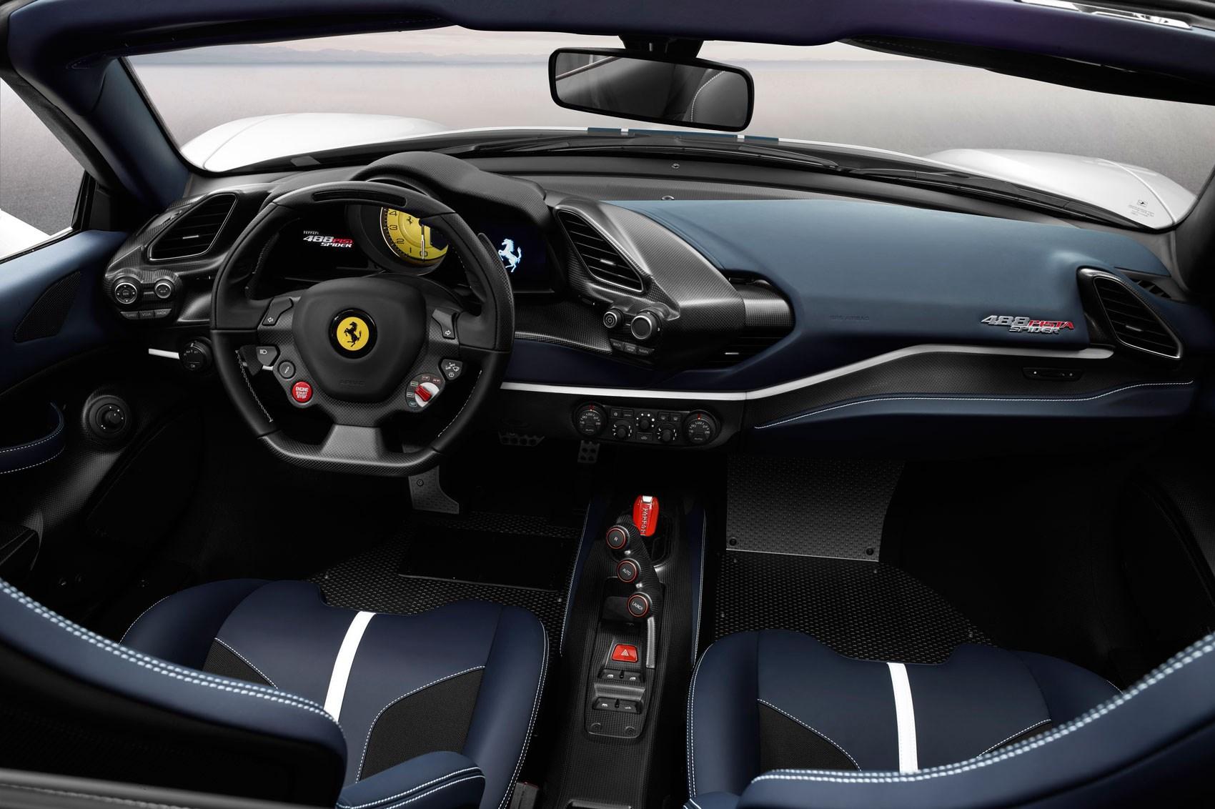 Ferrari 488 Pista Spider The 50th Ever Convertible Fezzer Car Magazine