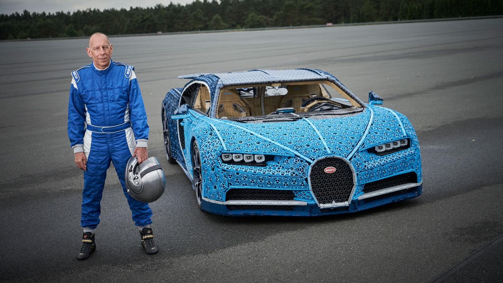 Lego built a life-size Bugatti Chiron you can drive   CAR Magazine