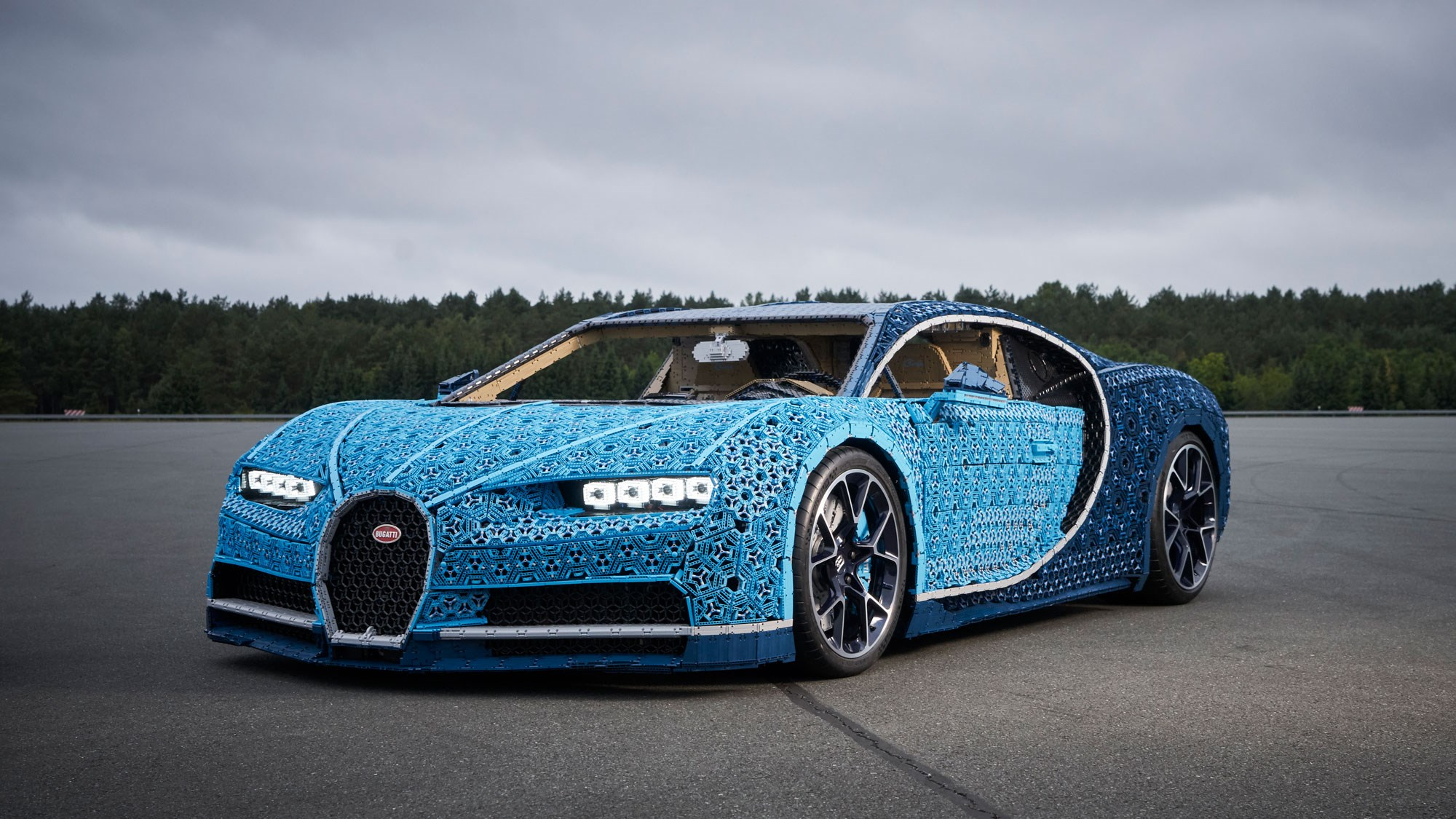 Lego Built A Life Size Bugatti Chiron You Can Drive Car Magazine