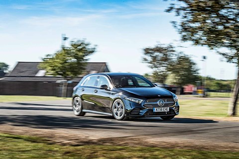 Mercedes-Benz A-class takes on the VW Golf and Volvo XC40