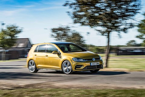 VW Golf: a conventional family hatchback, still so sensible