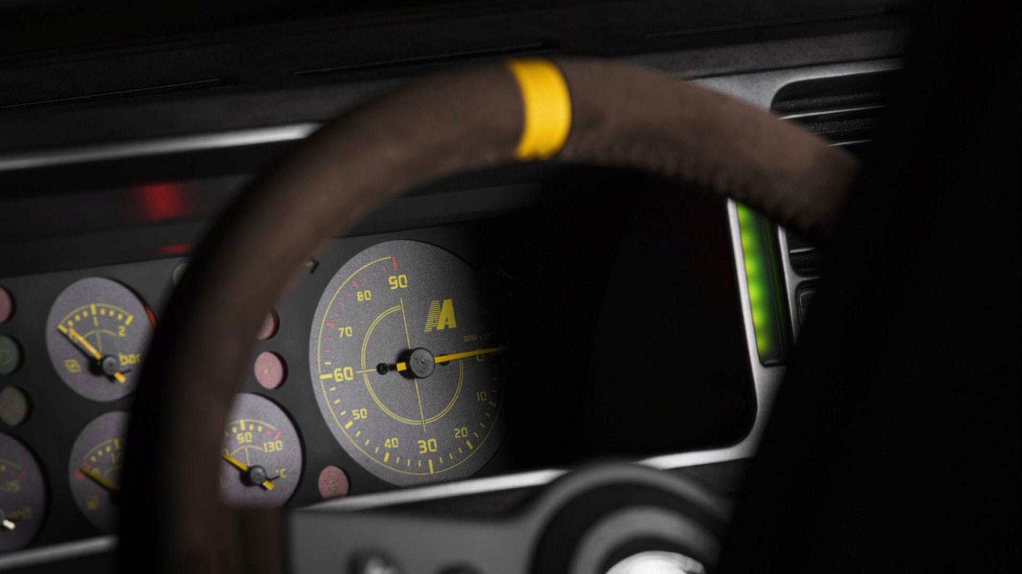 Lancia Delta Integrale Futurista restomod revealed at Grand Basel ...