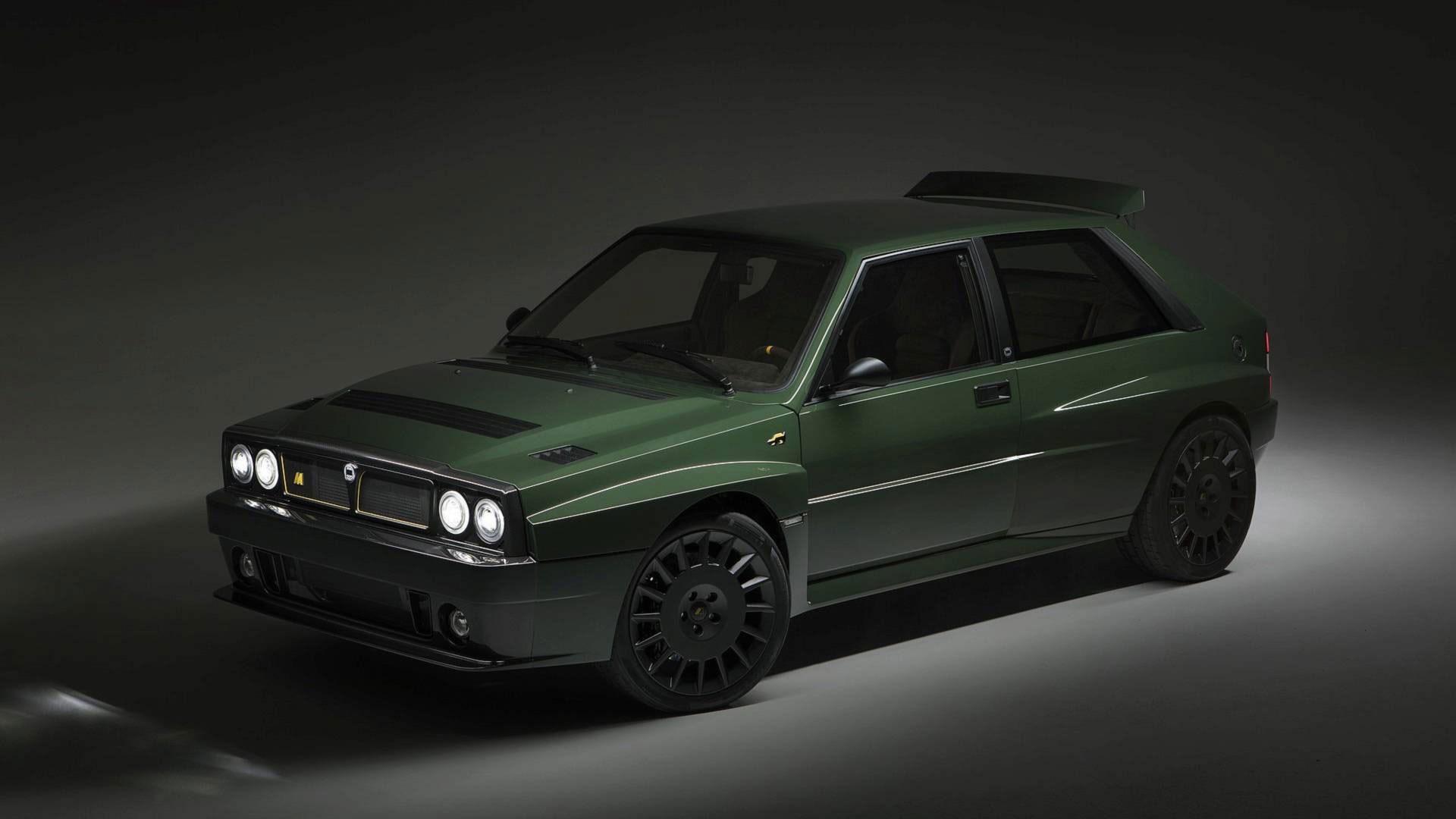 Lancia Delta Integrale Futurista Restomod Revealed At