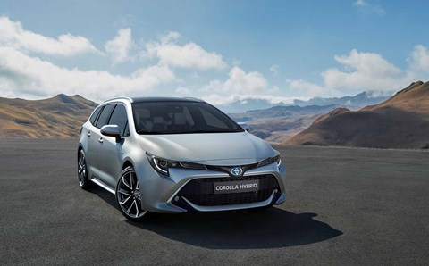 The new 2019 Toyota Corolla