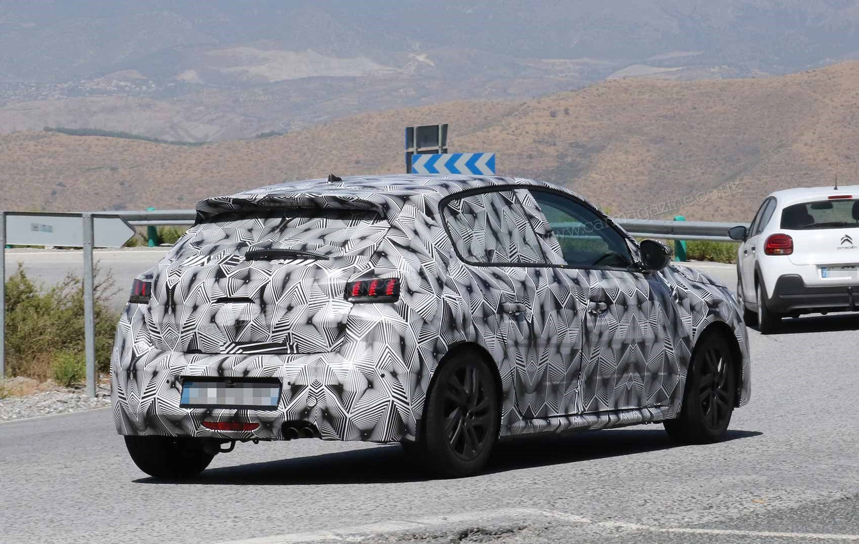 New 2019 Peugeot 208 Spy Photos Car Magazine