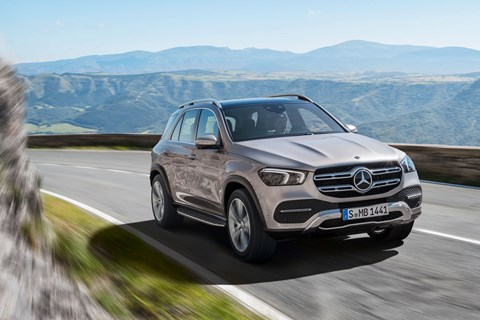 Mercedes GLE front tracking