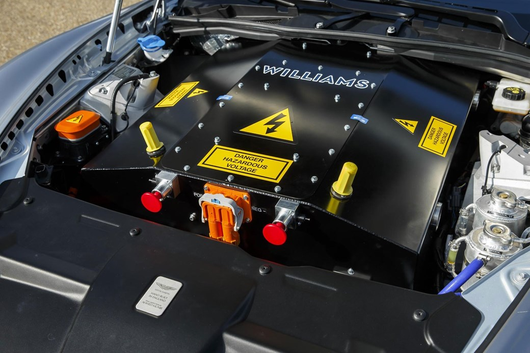 aston martin rapide battery charger