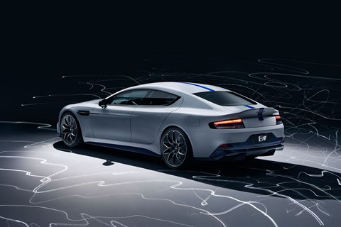 The 2019 Shanghai motor show was the launchpad for the new Aston Martin Rapide E