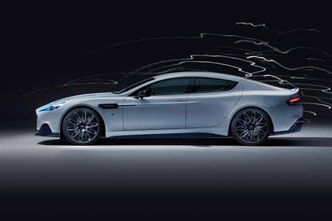 Only 155 Aston Martin Rapide E electric cars will be built