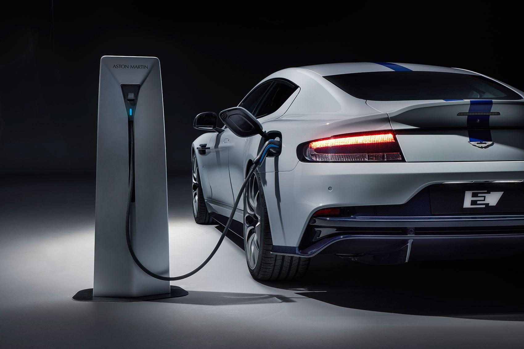 The New 2019 Aston Martin Rapide E