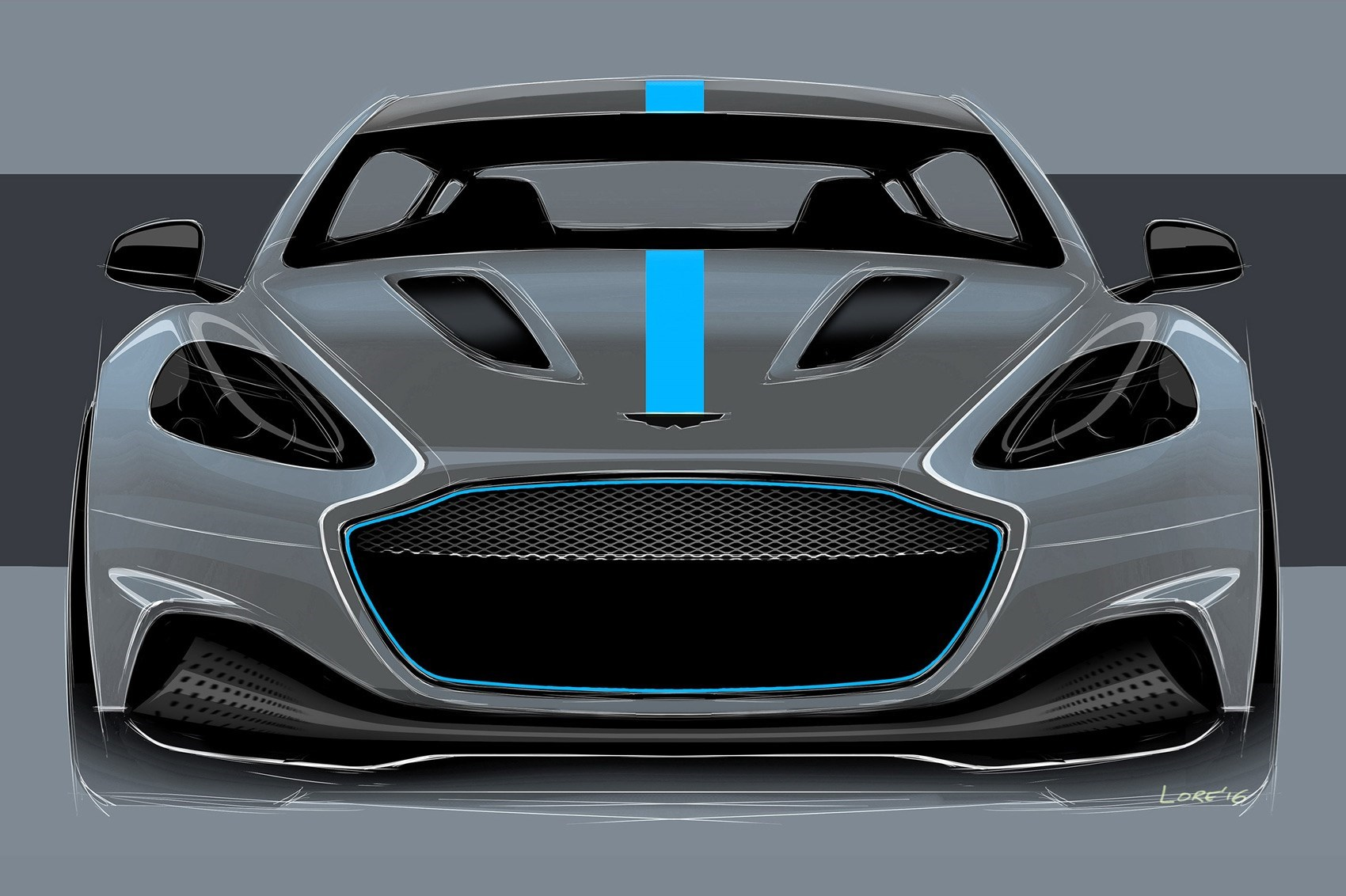 Digital Cleverness In The Aston Martin Rapide E Instrument Cer