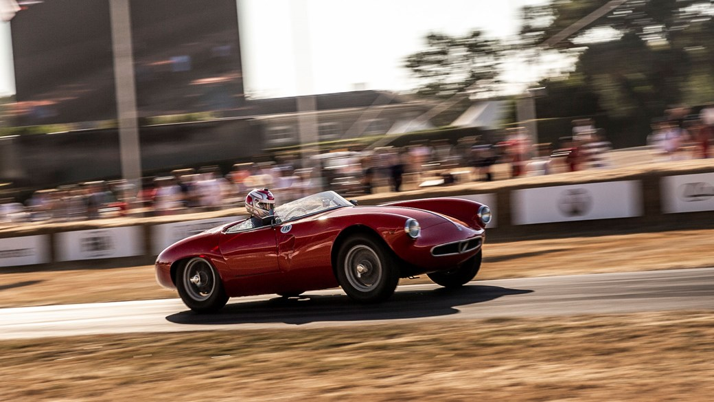 Driving The Classics Alfa Romeo 1900 Sport Spider 1954 Car Magazine