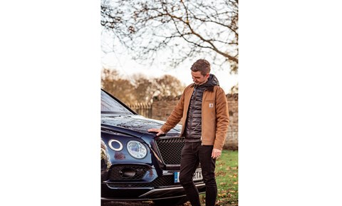CAR magazine editor Ben Miller and his Bentley Bentayga V8