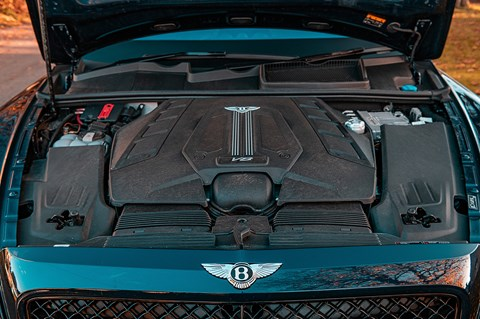 Bentayga engine