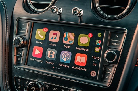 Bentayga apple carplay
