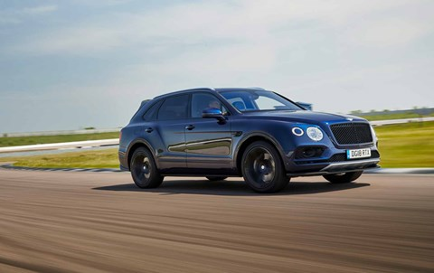 Editor Ben Miller and 'his' Bentley Bentayga V8