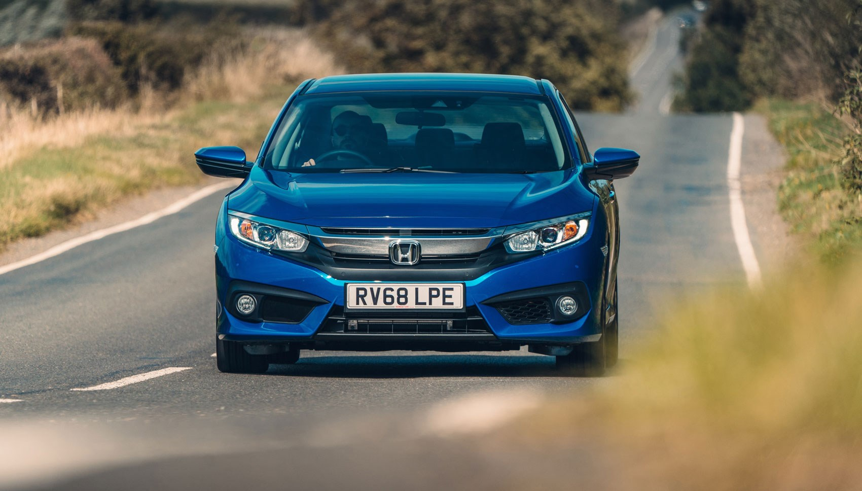 Honda CIvic four door front panning
