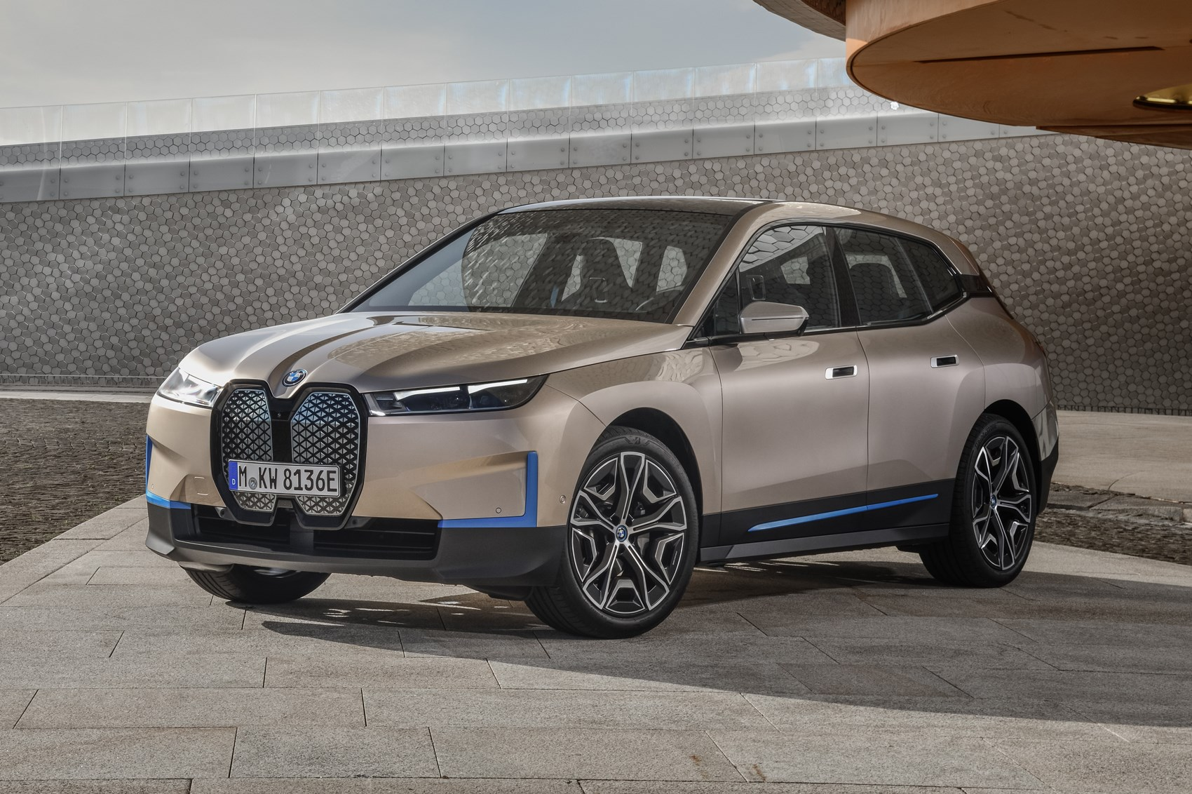 New Bmw Ix Near Production Ready Version Of Electric Suv Previewed Car Magazine