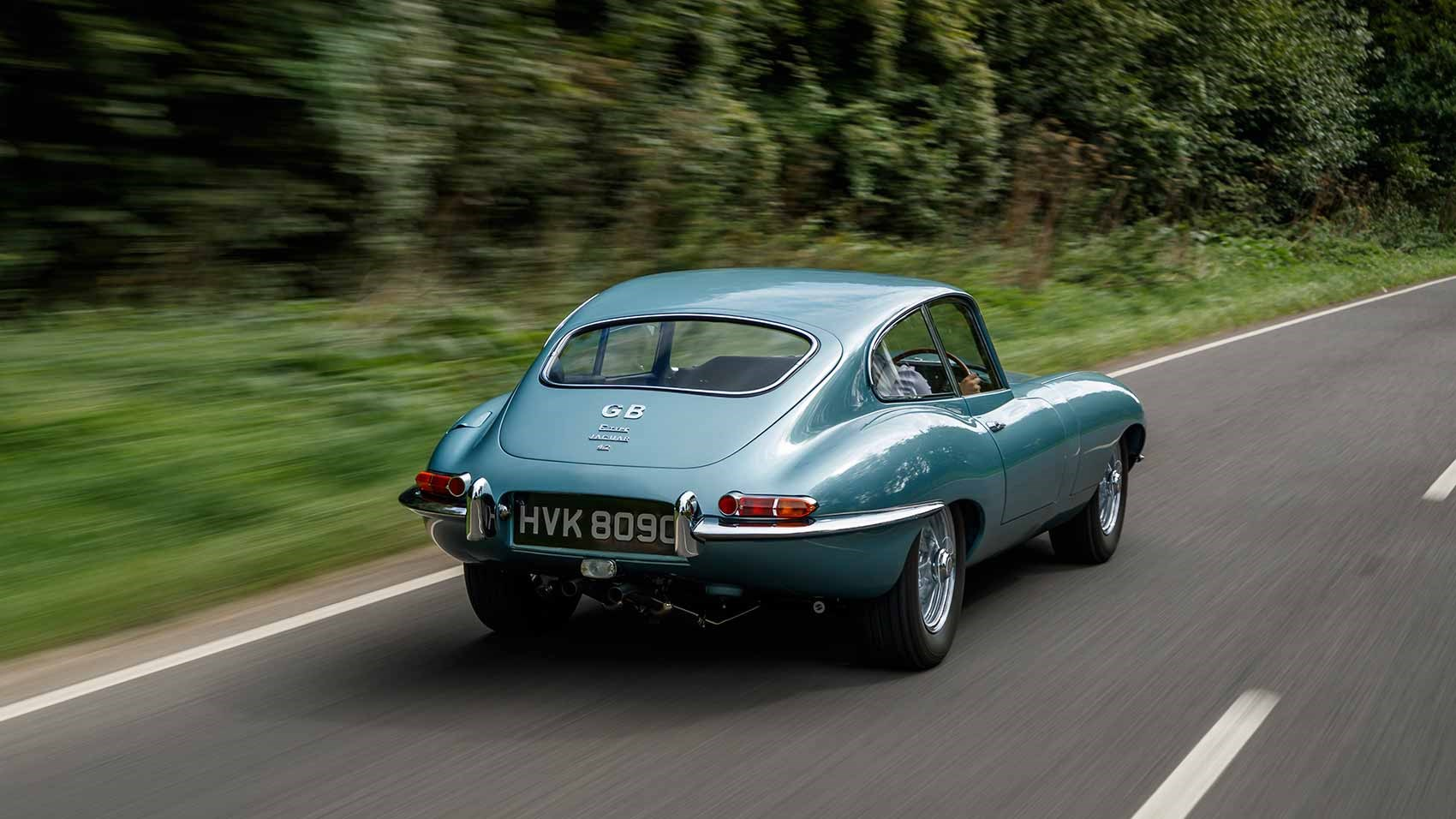 Beautiful But Pricey The Jaguar Reborn E Type Costs 295 000