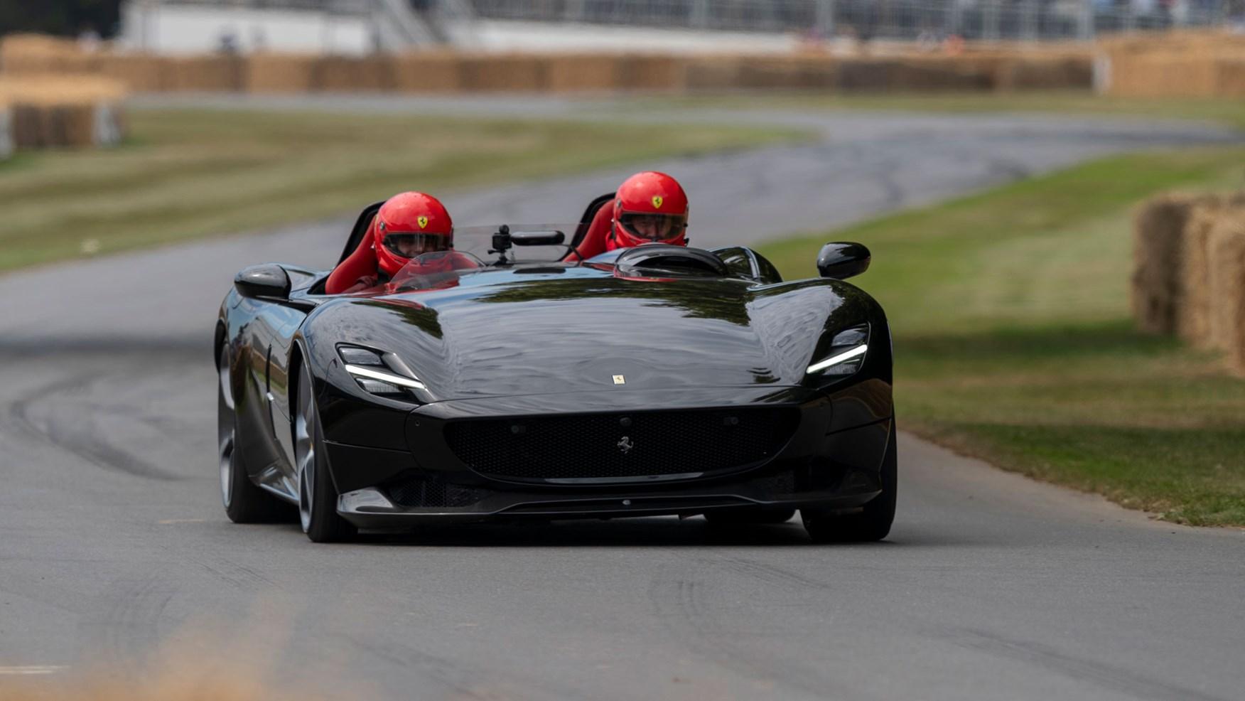Ferrari Monza Sp1 And Sp2 A Ride In Maranello S Special Project Car Magazine