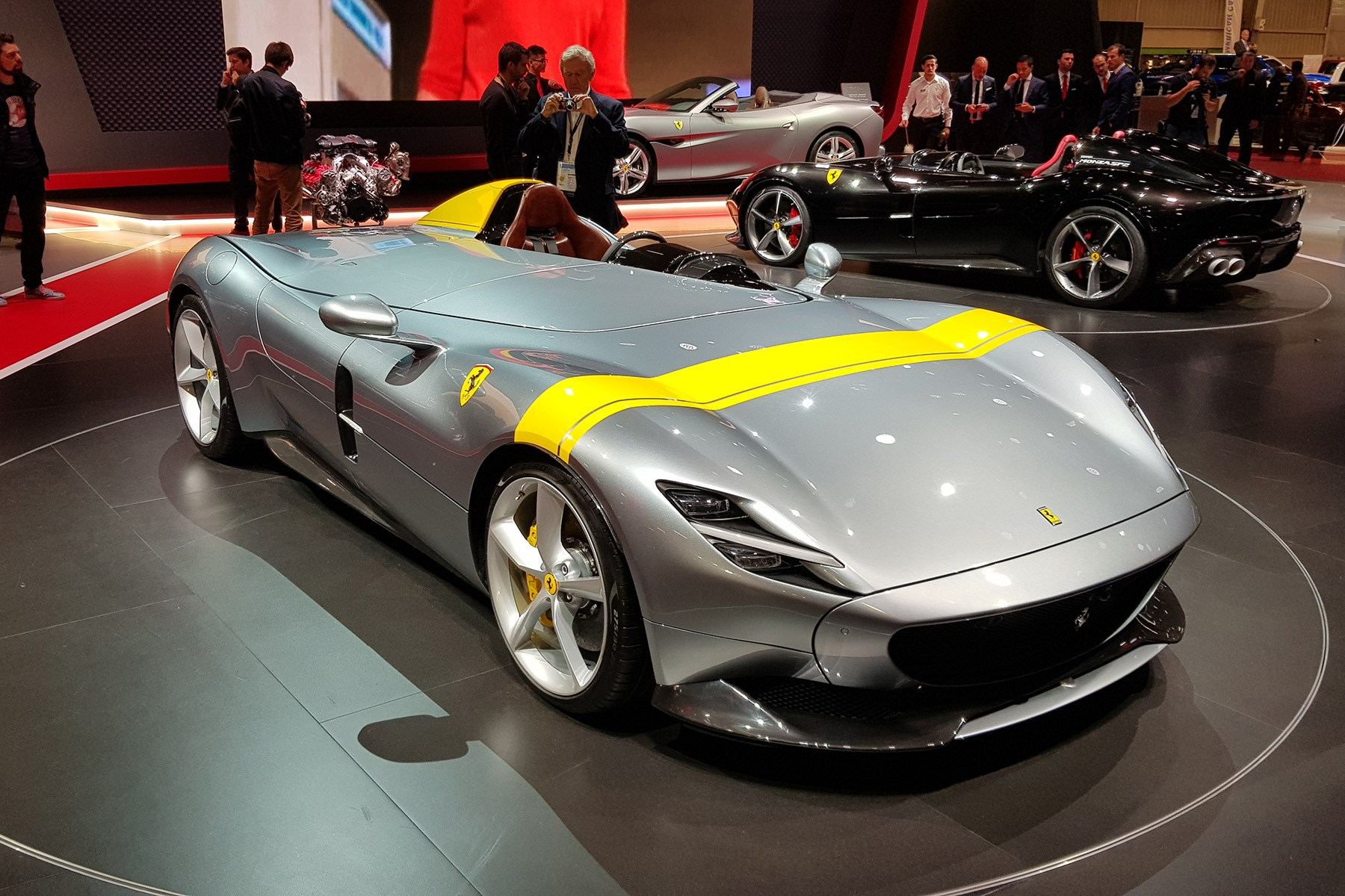 Ferrari Monza Sp1 And Sp2 Pricing Confirmed At Paris