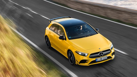 Mercedes-AMG A35 hot hatch
