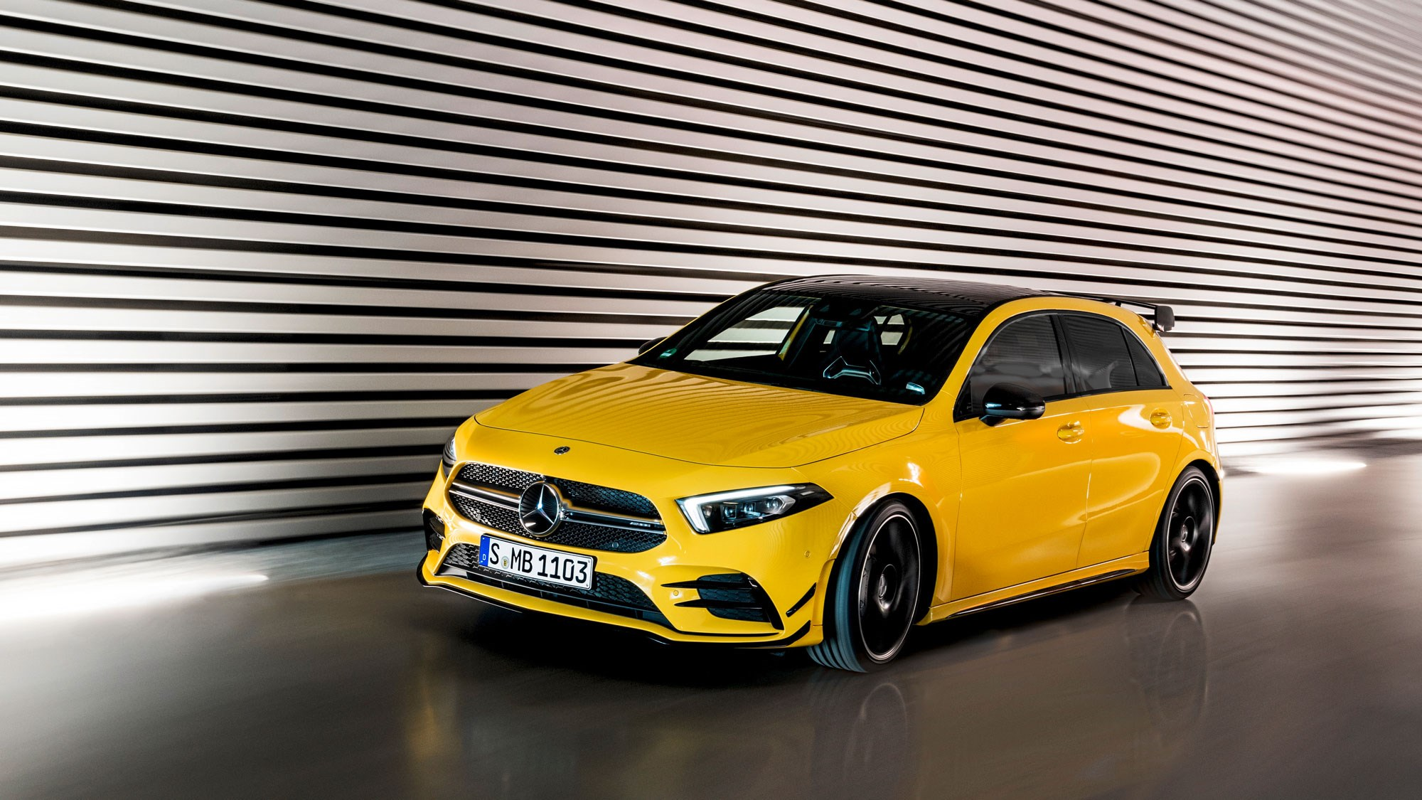 mercedes amg a35 hot hatch prices specs car magazine. Black Bedroom Furniture Sets. Home Design Ideas