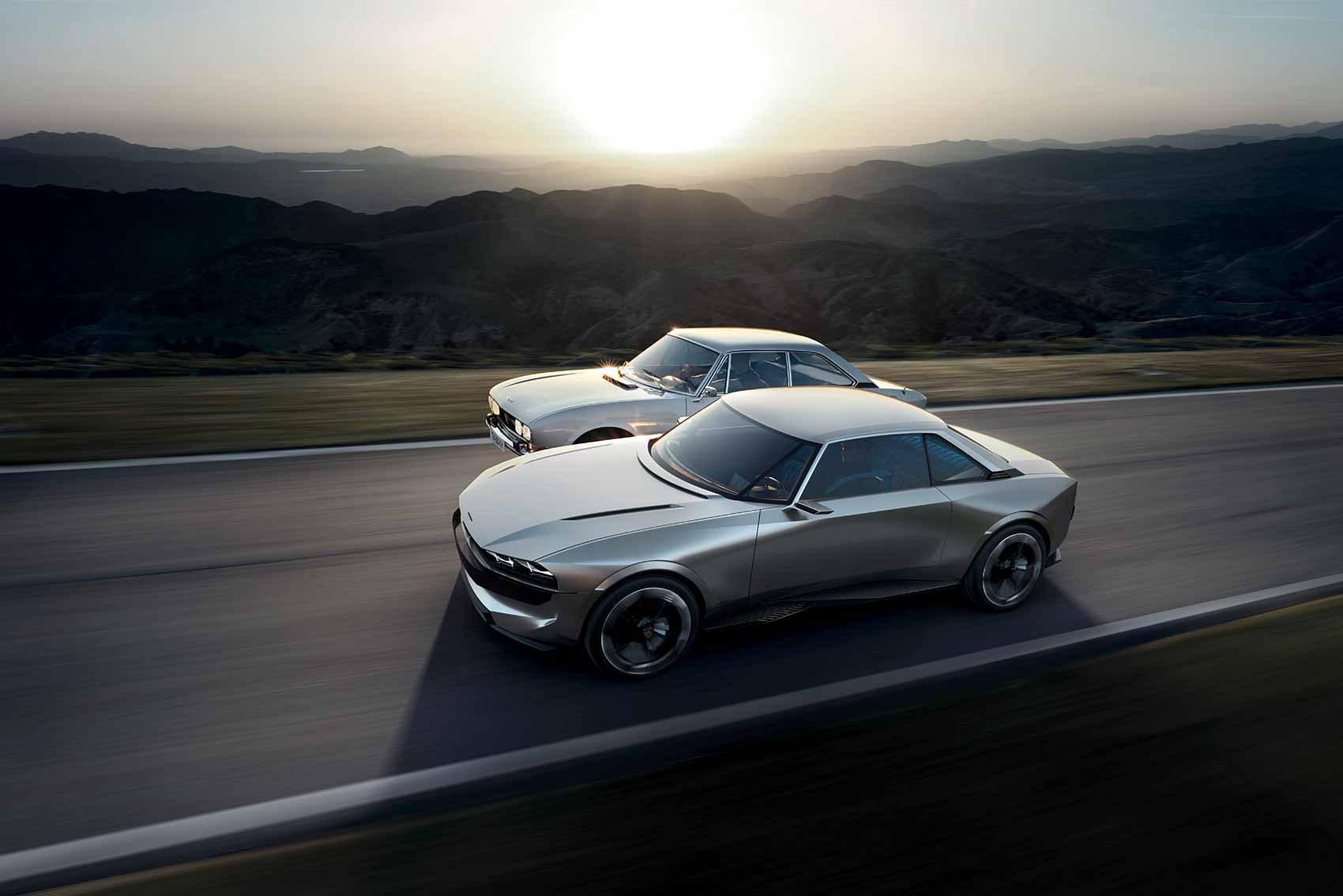 Peugeot e-Legend Concept 2018   CAR Magazine