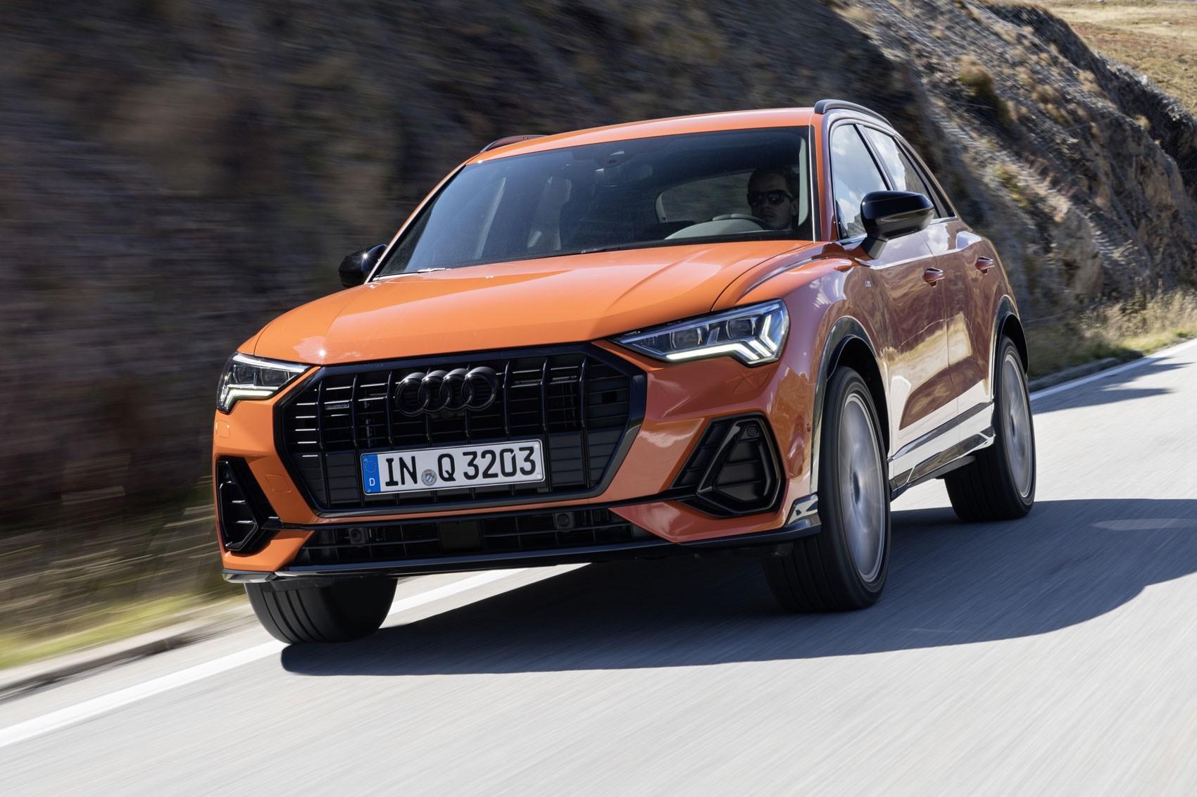 Audi Q3 rear tracking