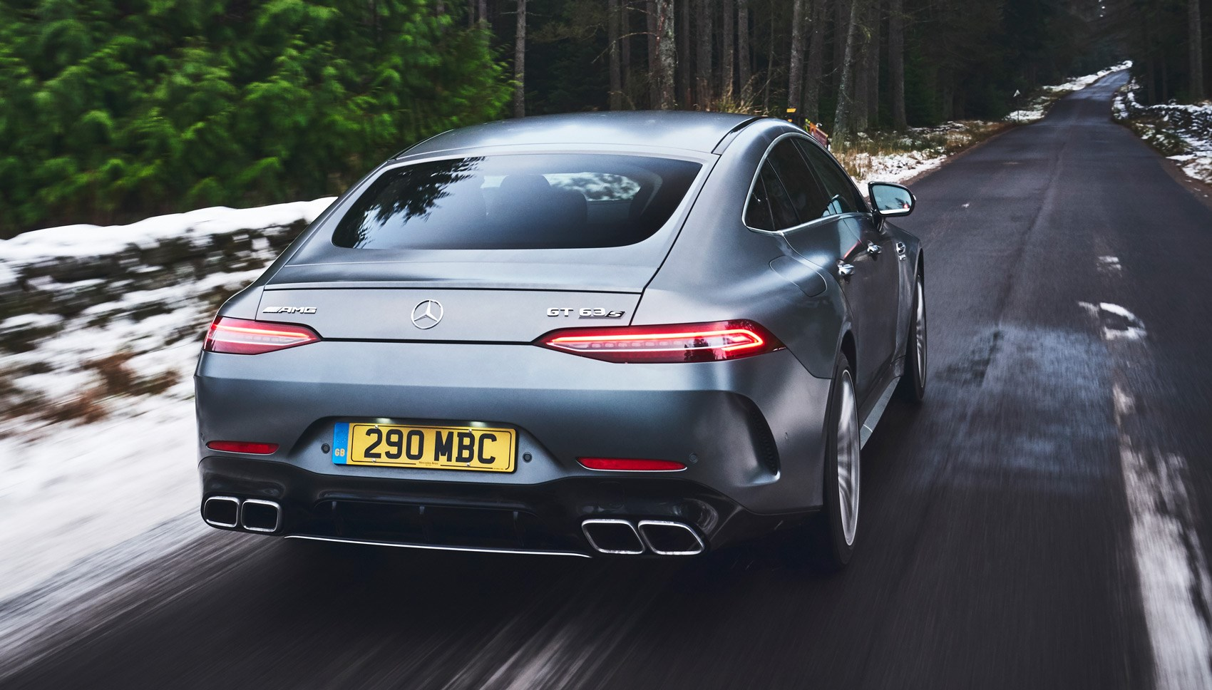 AMG GT 63 UK rear quarter