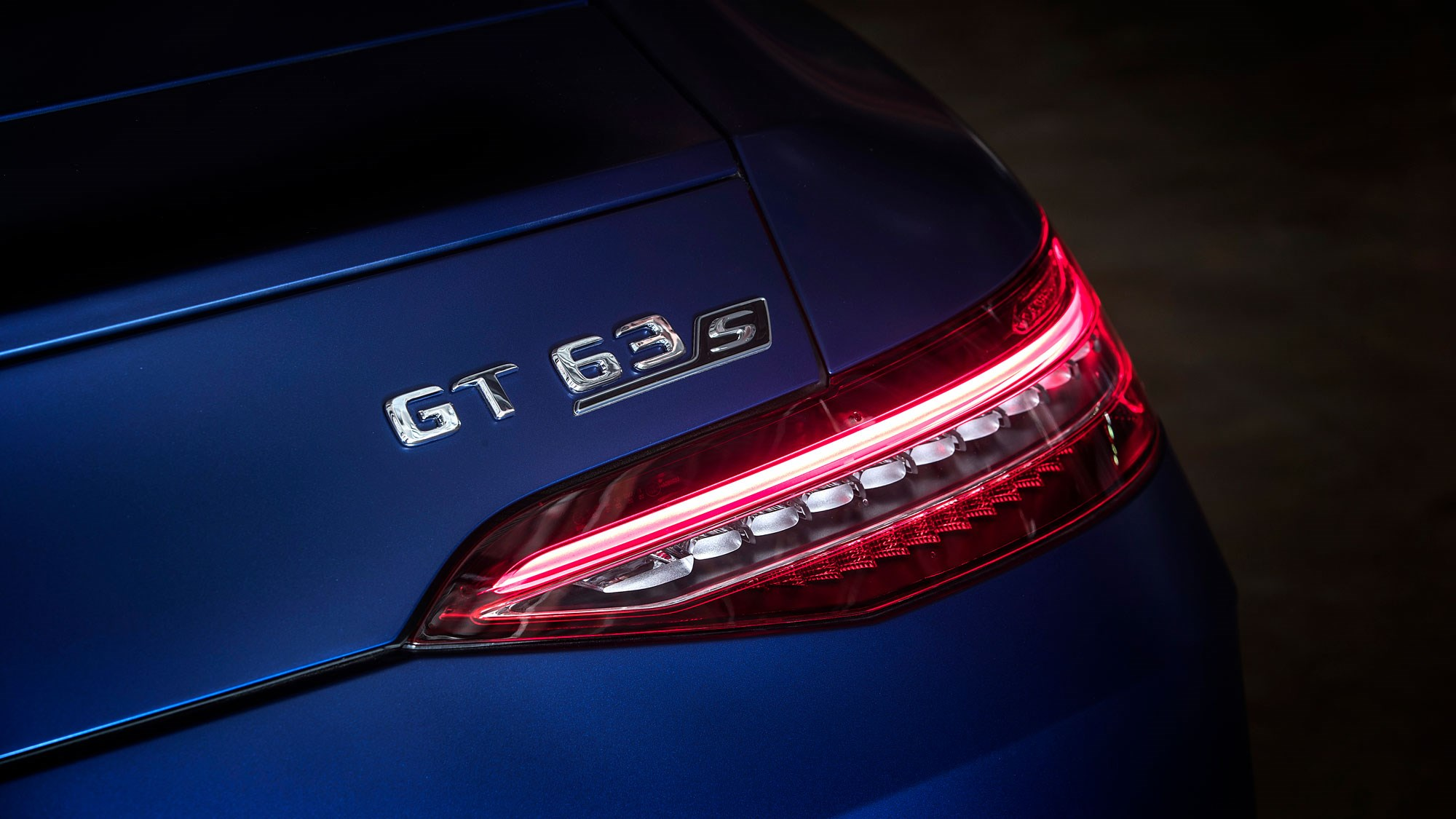 AMG GT 63S badge