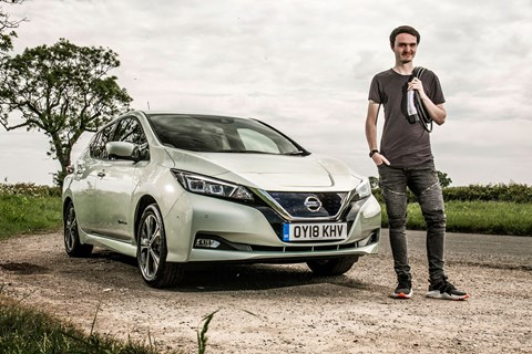 Jake Groves and our Nissan Leaf electric car long-term test review