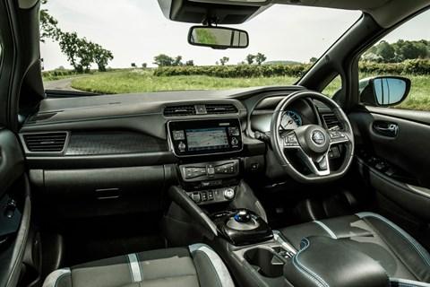 Nissan Leaf EV interior