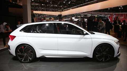 Skoda First Official Pictures Car News Car Magazine