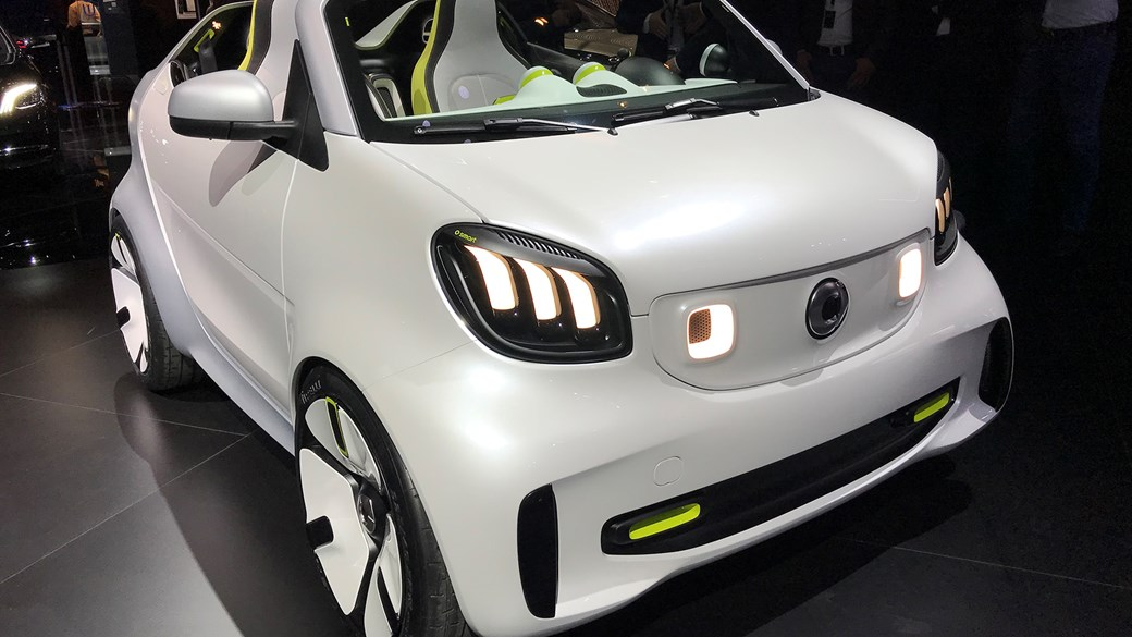 Smart Forstars Concept 2012 First Offical Pictures Car Magazine