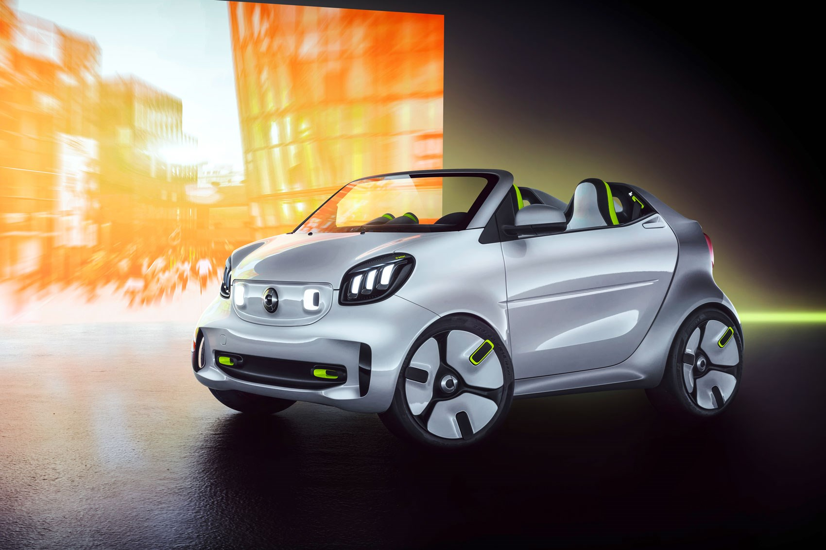 State Of The Smart: Forease+ Cabrio Concept Gives A