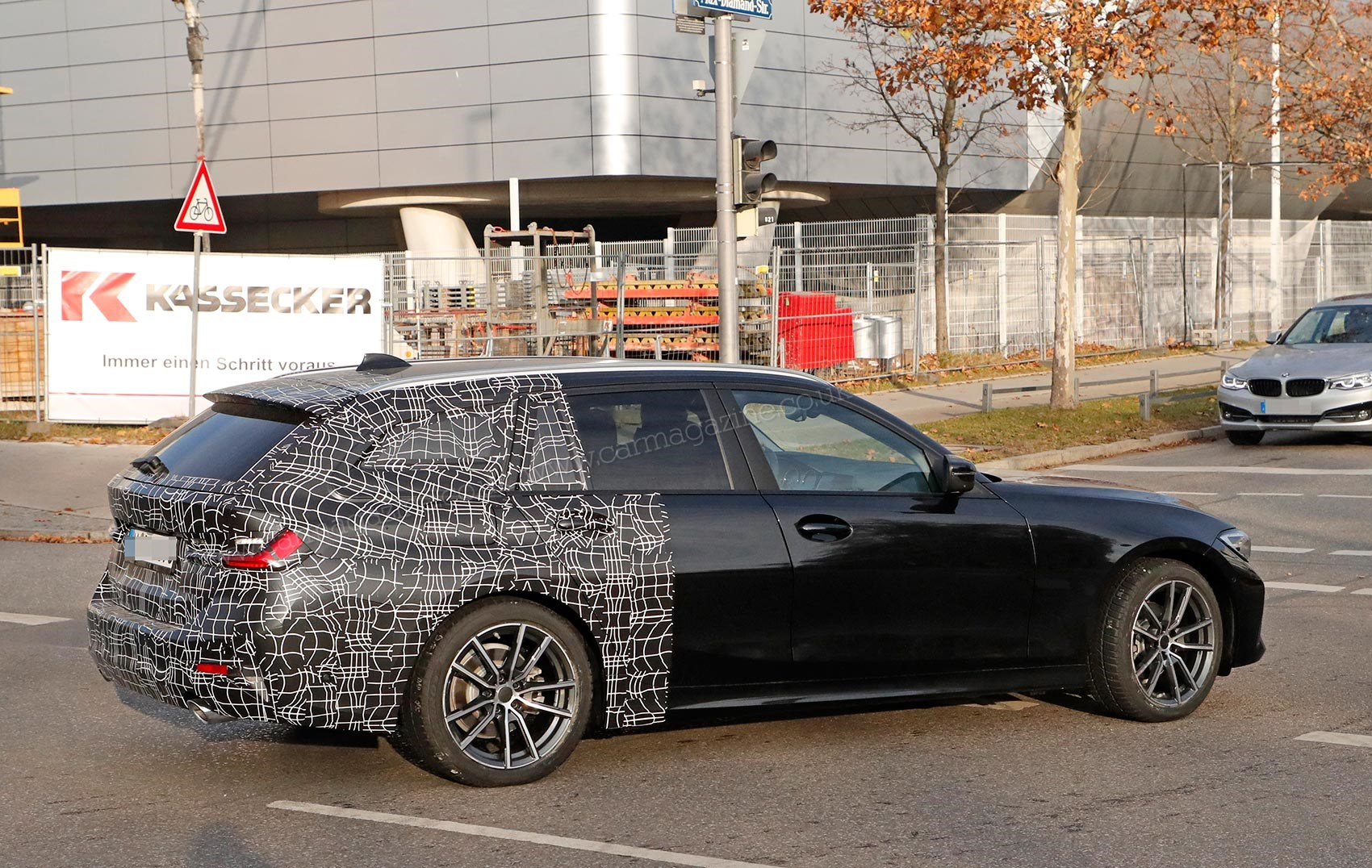New Bmw 3 Series Touring Drops Its Camo